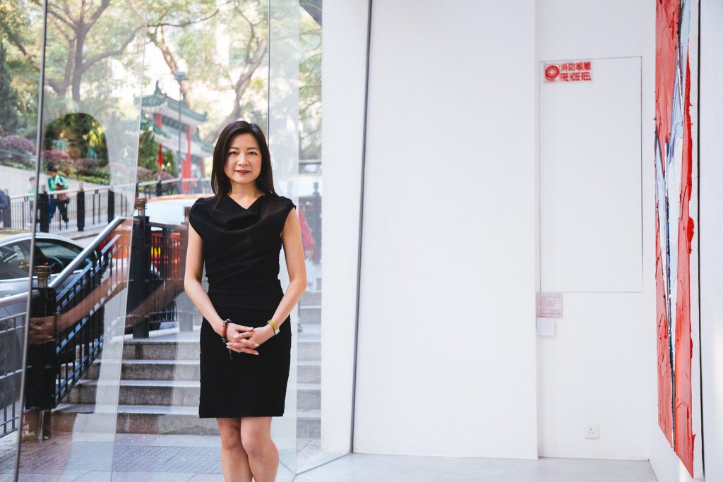 李安姿是畫廊Contemporary By Angela Li創辦人及香港畫廊協會的聯合主席。
