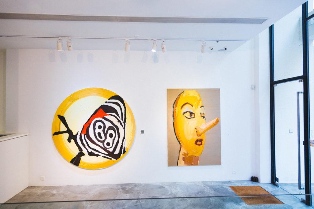 畫廊正舉行德國藝術家Martin Wehmer的個人展覽。