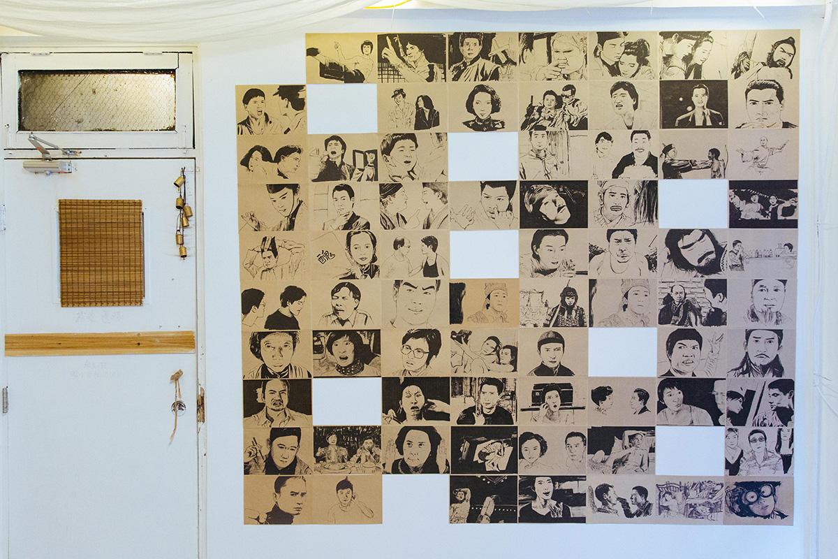 電影截圖依據上映年份順序排列,紀錄着香港電影走過的每一個時期。