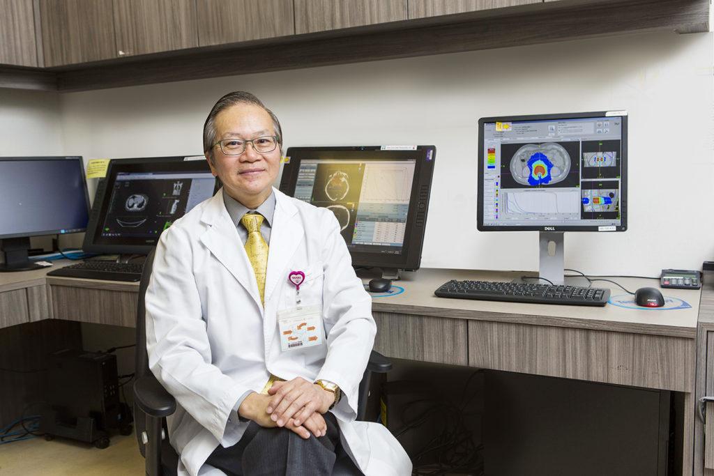 香港港安腫瘤中心首席物理學家陳作良