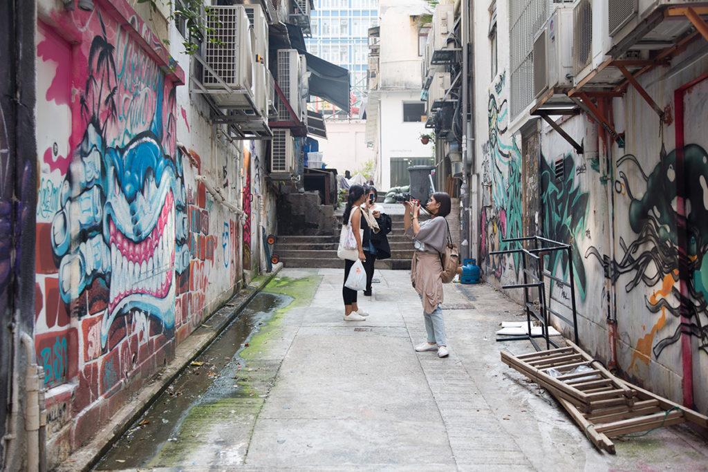 郭松街位處西街與差館上街之間,曾經以華人首富為名,如今卻變為無名小巷。
