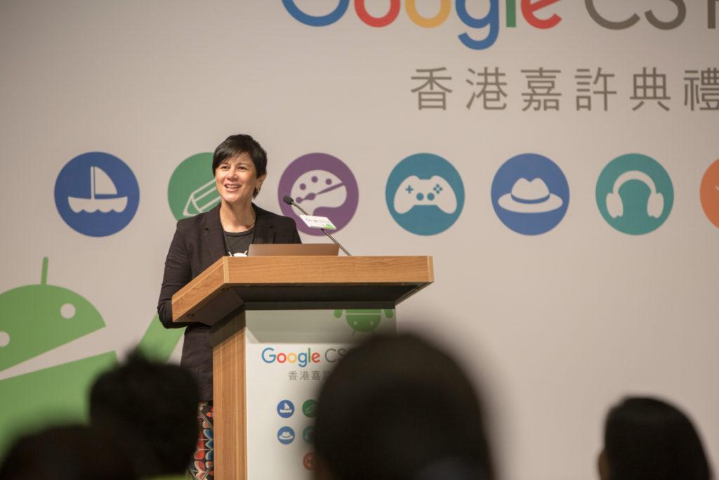 Google香港銷售和營運董事總經理尉俐妮(Leonie Valentine)