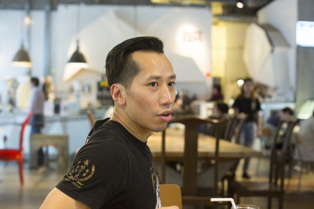 sensory ZERO擴充成MMA道場,創辦人Alvin說希望創造一個獨特的本土咖啡店品牌。