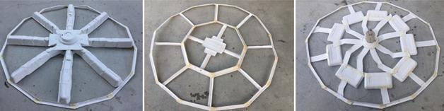 經過反覆的試驗,團隊才找到最合適的支架重量和結構。