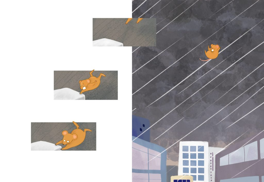 《老鼠傑克被吹走了》其中一幕。