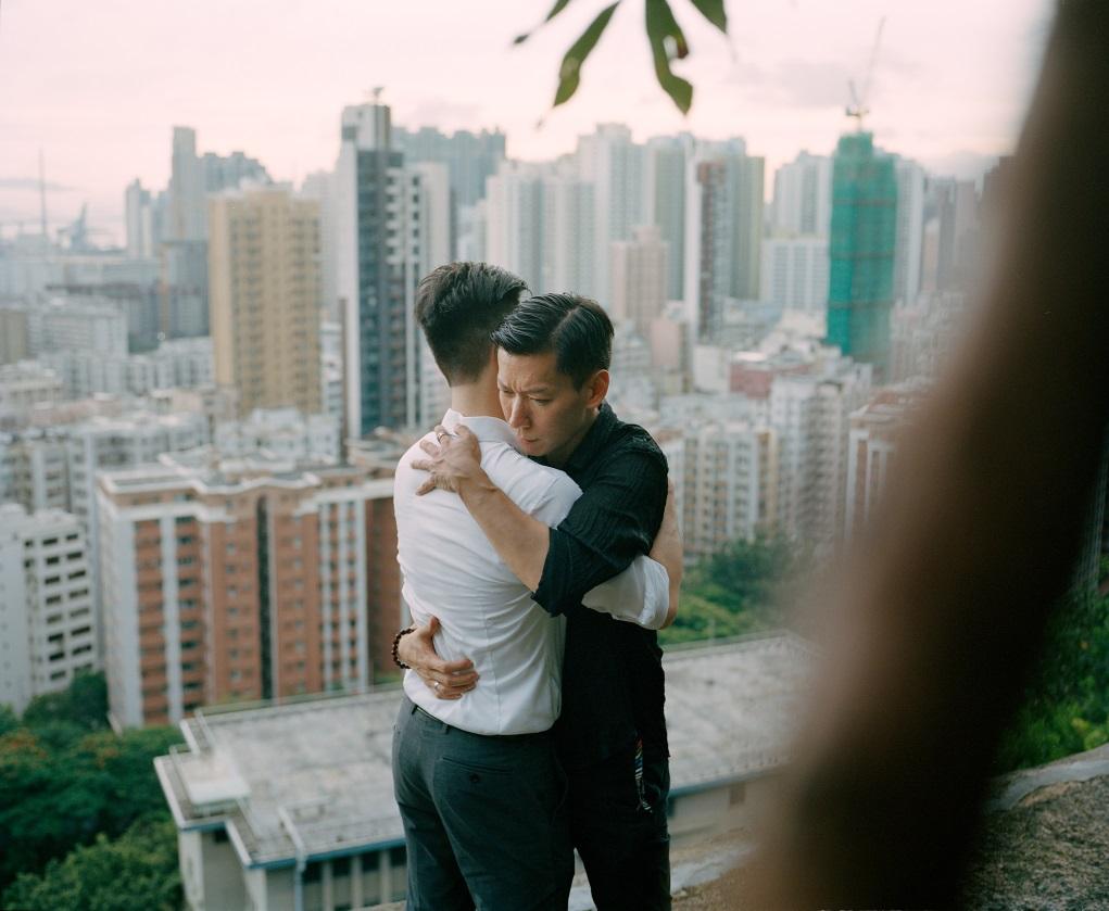 攝影師謝嘉敏拍攝前訪問多位LGBTQ同志,談及自身與香港的關係。(謝嘉敏作品)