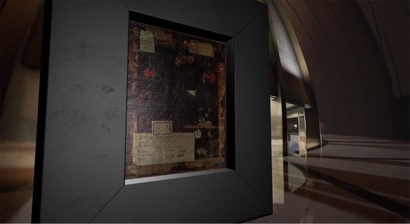 畫作背後暗藏「驚喜」,觀者可以從中發掘更多關於畫作的出處資料,這是一般博物館無法提供的觀賞體驗。