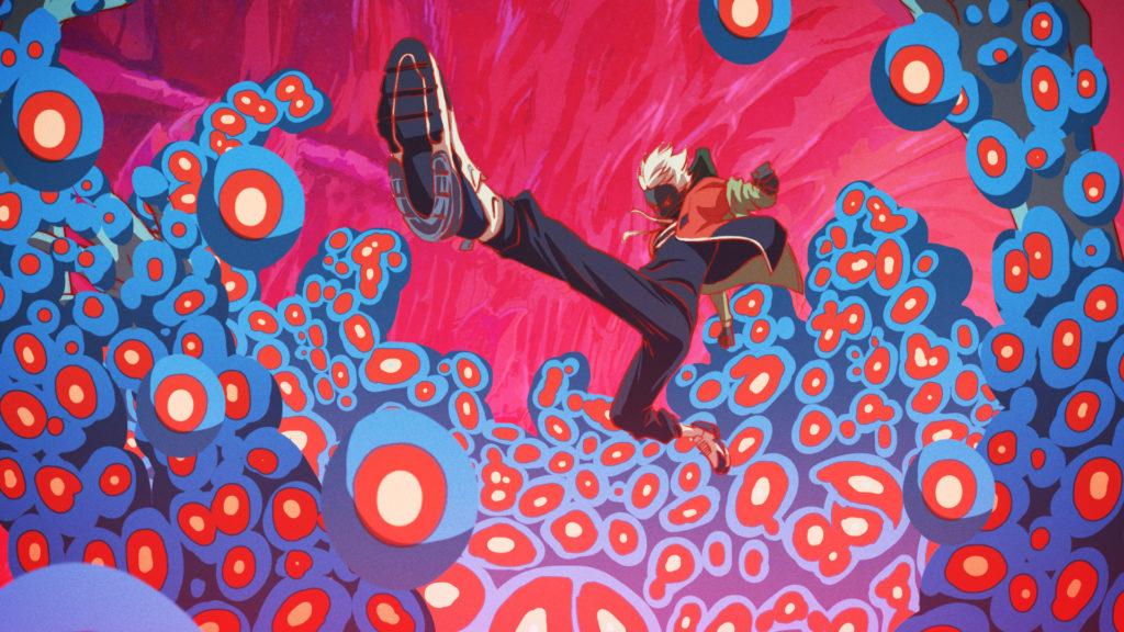 《Challenge Imagination》刻劃主角如何挑戰人體極限,場景設計上參考了神經組織及細胞的結構。