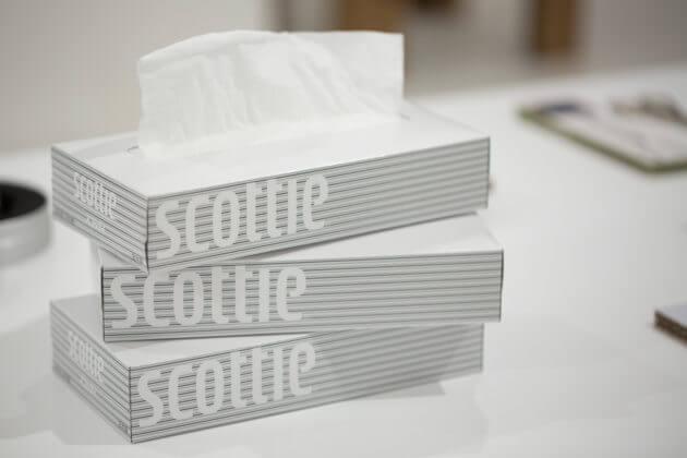 即使紙巾盒設計,都能超越時空,三十年前的設計到今天依然耐看。