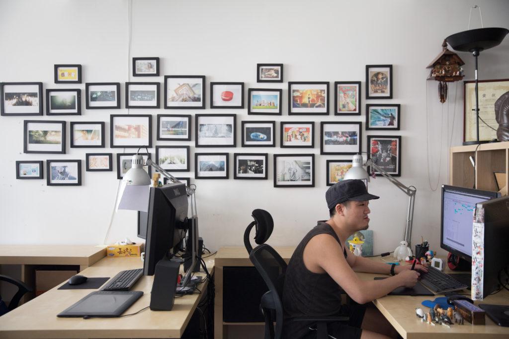 他樂見愈來愈多公司知道香港有人做動畫,期望動畫有更多發揮空間和模式。