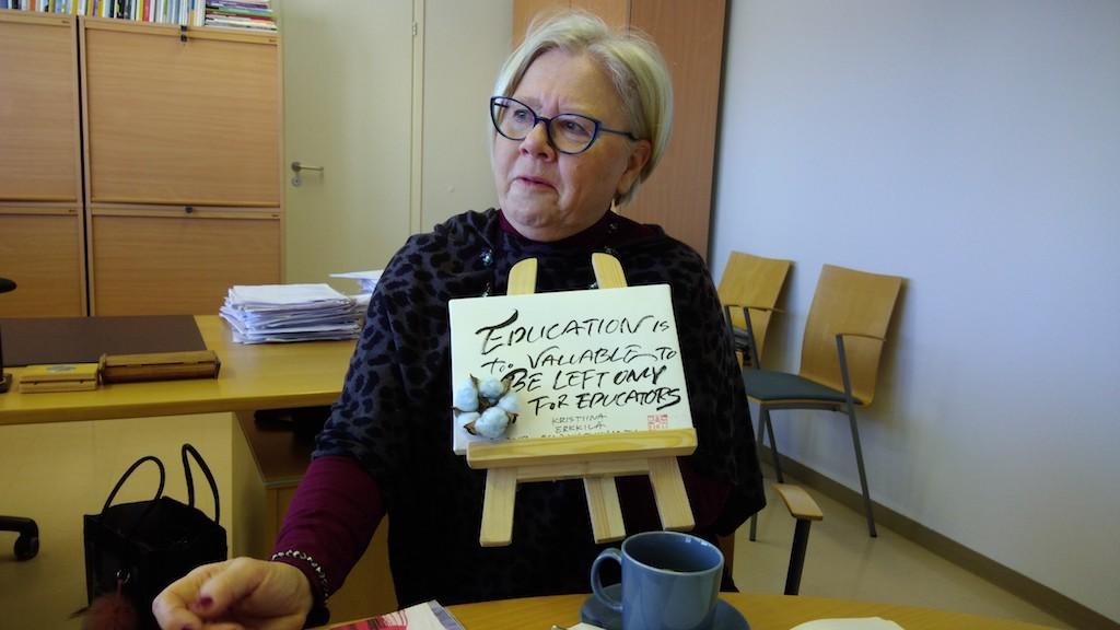 文化及教育局總監Kristiina Erkkilä