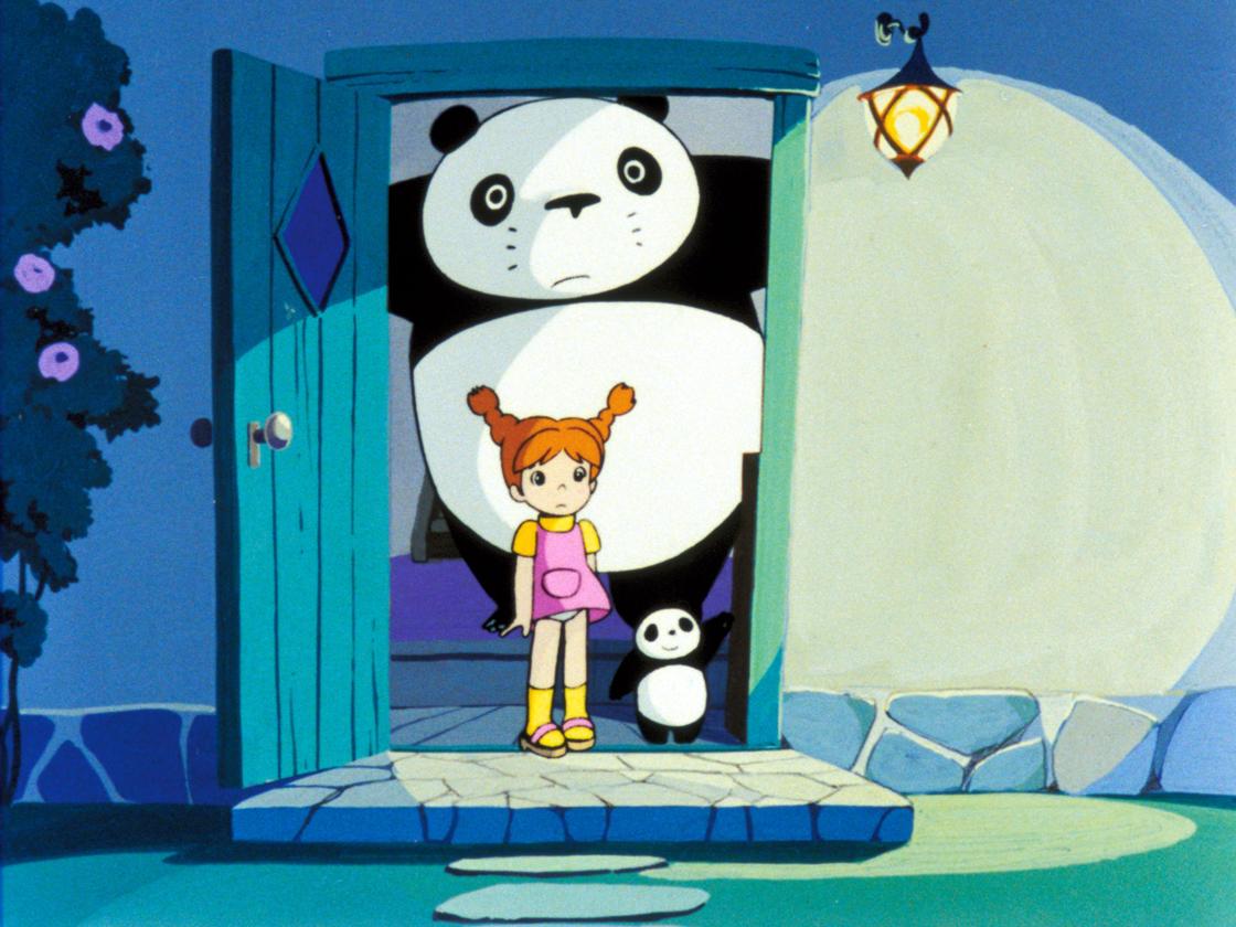 Panda kopanda amefuri s毾asu no maki Panda Kopanda Rainy Day Circus Year : 1973 Director : Isao Takahata Animation