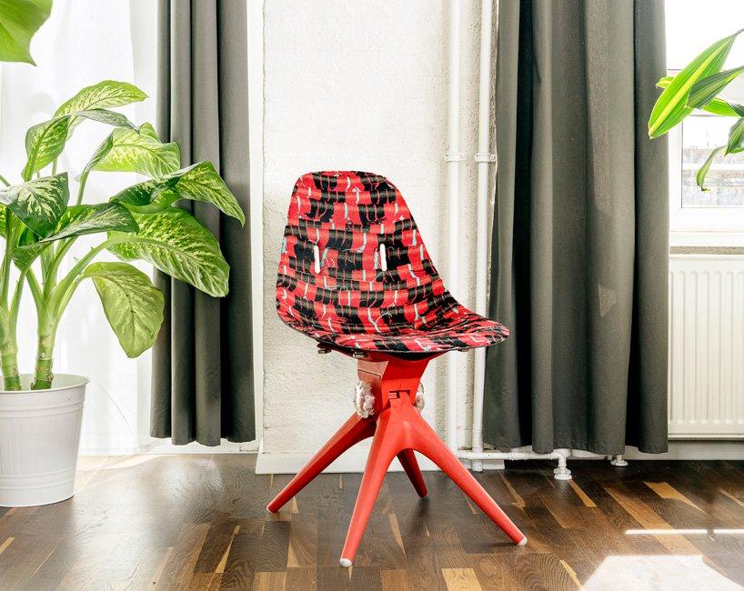 """王牌 """"Airtool Chair""""組合式座椅。"""