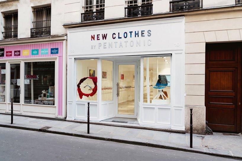 Pentatonic在巴黎開設首間期間限定店。