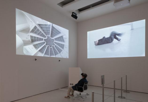 林一林透過三條影片,希望觀眾以全新的視角觀看和理解世界。(圖片:Lin Yilin)
