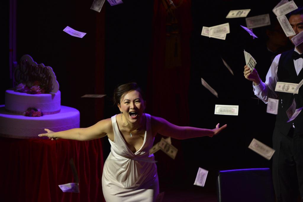 林穎穎在2017年參演香港歌劇院主辦的《歌劇百年盛宴》。(相片由受訪者提供)