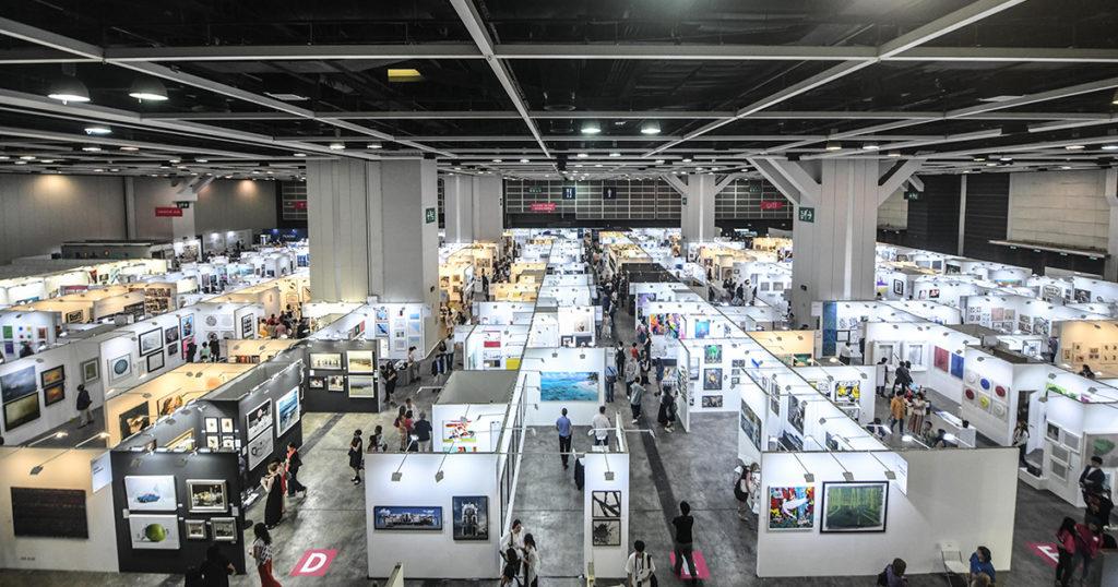 《香港Affordable Art Fair》由本日至5月20日,於灣仔會展舉行。(圖片來源:Affordable Art Fair)