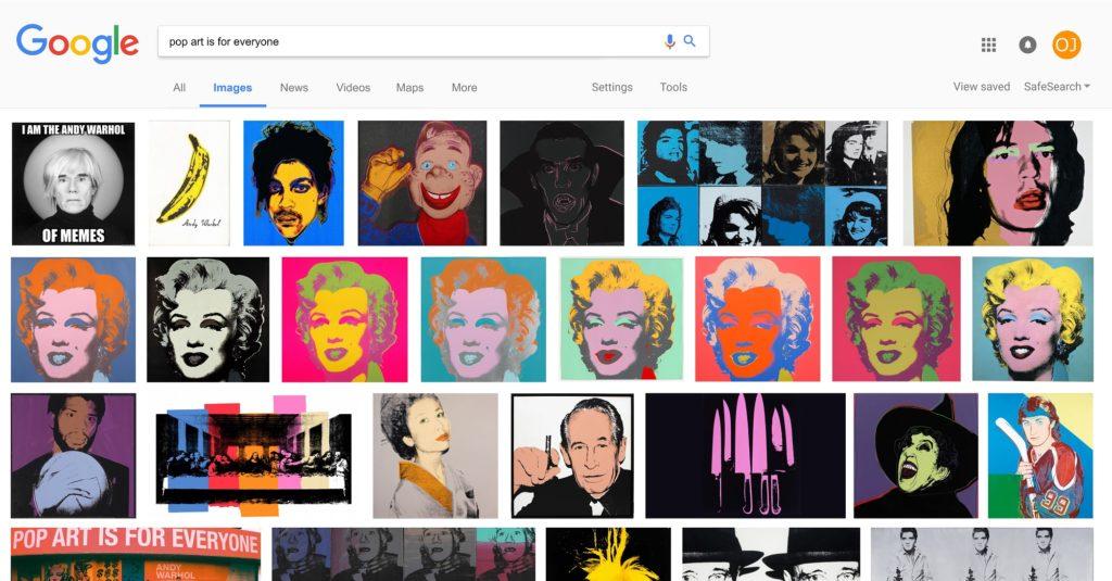 Orange Juice 的《Pop Art is for Everyone》(圖片來源:Axiom Contemporary)