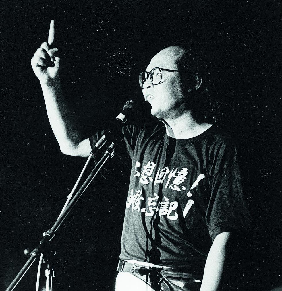 岑建勳表示他對平反六四的立場不變
