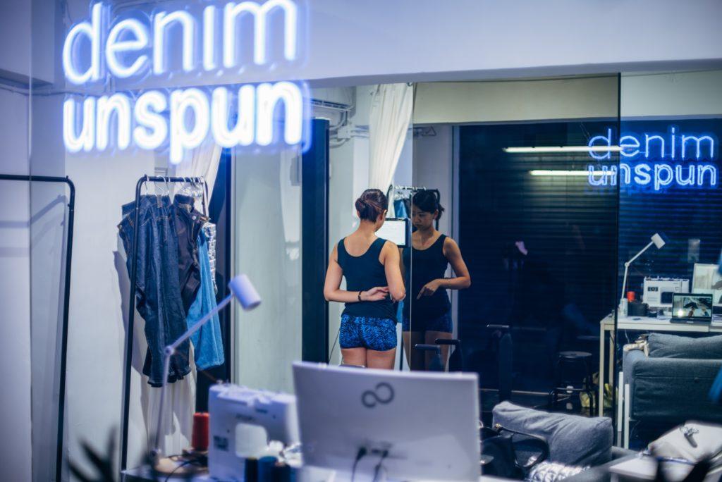 Unspun為客人以3D掃描度身