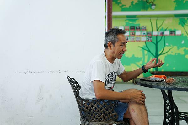 前新聞攝影記者翁志偉,喜愛拍攝與大自然有關的作品。