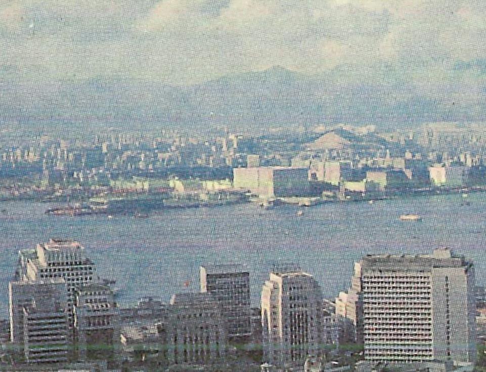 以七十年代維港景作為包裝盒設 計,至今不變。