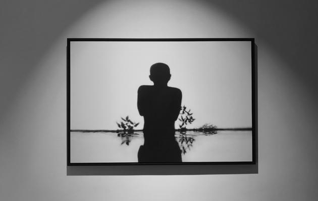 投影與攝影的結合,效果疑幻似真。