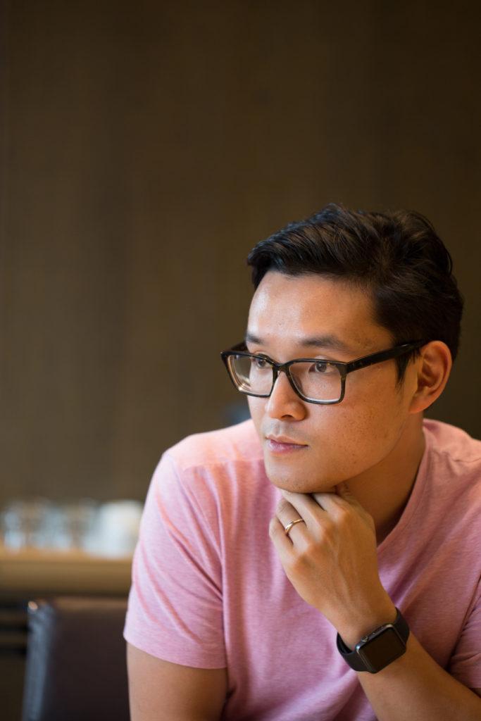 Unspun聯席創辦人林凱銘希望研發3D編織技術和機器,能減少製作牛仔褲時所造成的環境污染。
