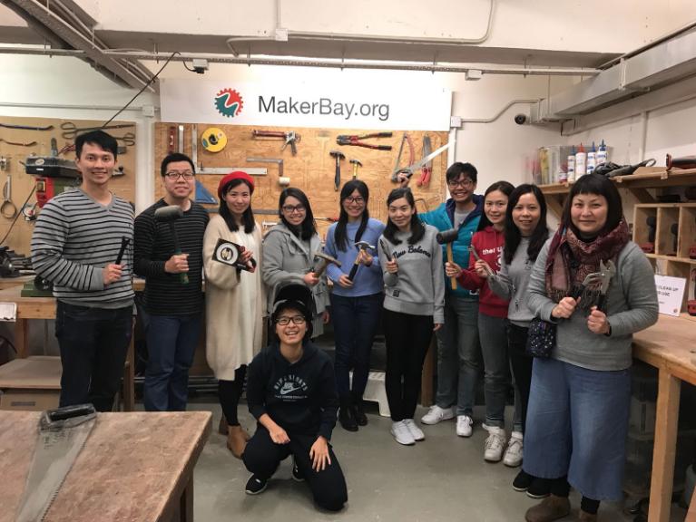 教育大同與合作夥伴maker bay