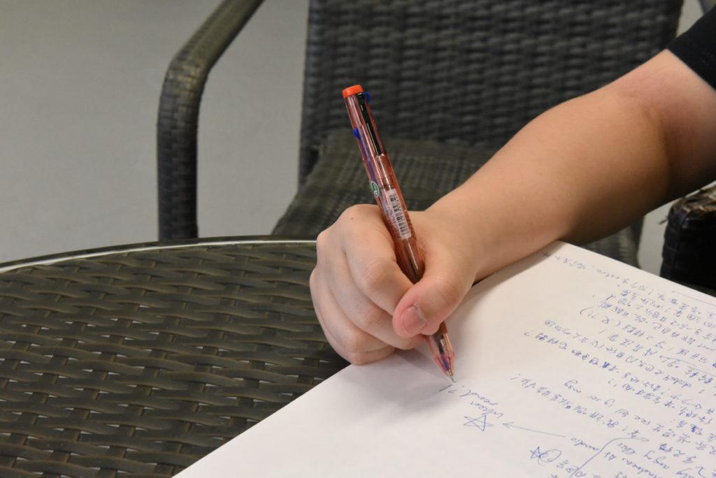 浸大中國研究課程二年級的JOMA對經濟科無從入手,只好找補習老師。