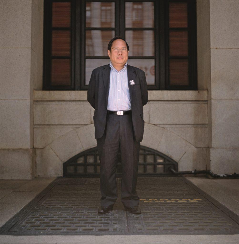 立法會議員、「民主黨」主席、「支聯會」常委何俊仁