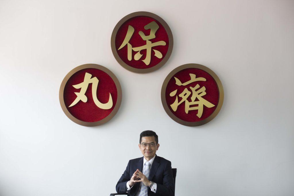 「雅各臣」行政總裁岑廣業提出,香港有能力自己的藥自己製。