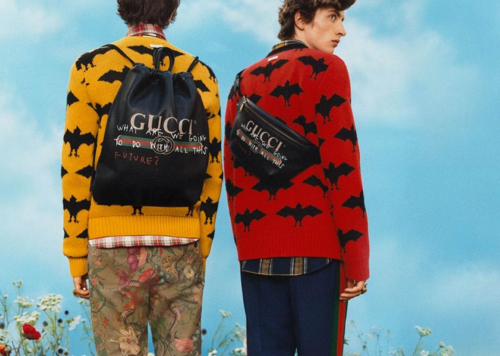 Alessandro曾請來藝術家Coco Capitan 在品牌名字上加入手寫標語,大受歡迎。