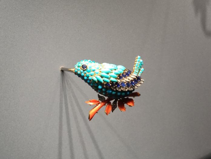 Van Cleef & Arpels Clip Oiseau Bleu 1963 T.Falcone