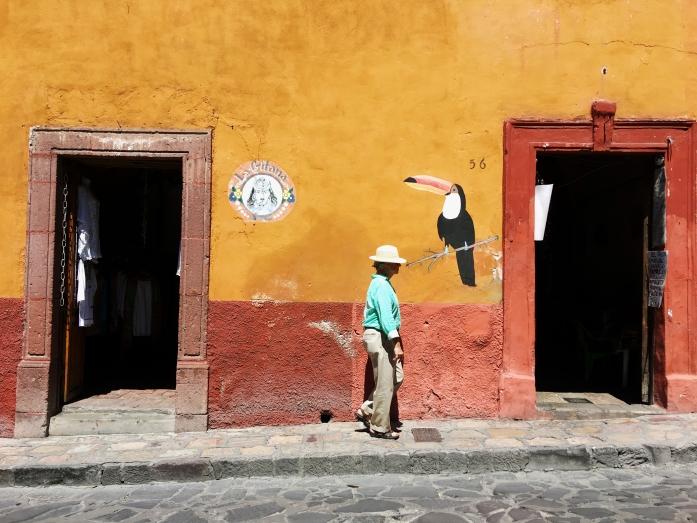 San Miguel de Allende城內一隅