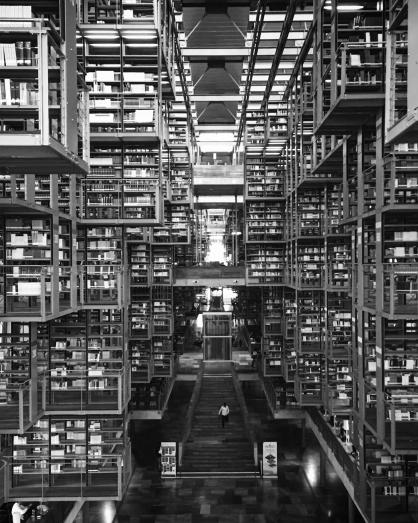 選舉之後,還望墨國人終能走出困局;圖為墨城中央圖書館。