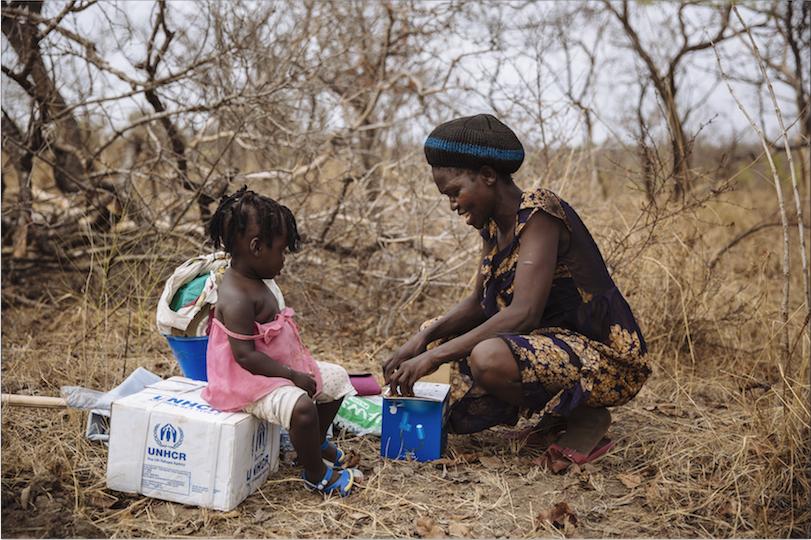 聯合國自前年發起「無人被流落在外」的計劃,希望啟發參與,為全球二百萬被迫逃離家園的難民提供安全的庇護,圖為烏干達。