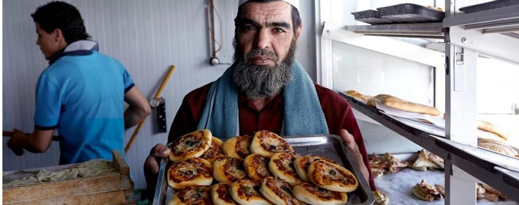 Zaatari難民營中的小商販(圖片來源:UNHCR)