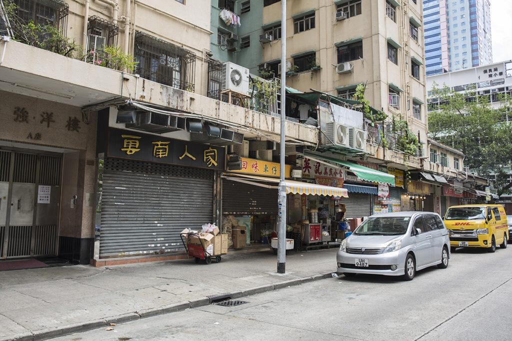 位置:新蒲崗景福街休憩處