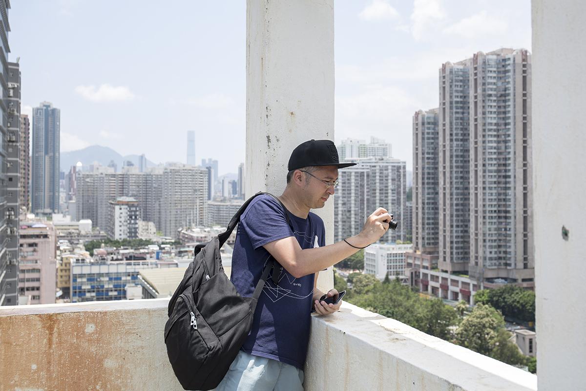 影迷王冠豪熱愛搜索港產片取景地,他發現杜琪峯尤其喜歡在新蒲崗取景。