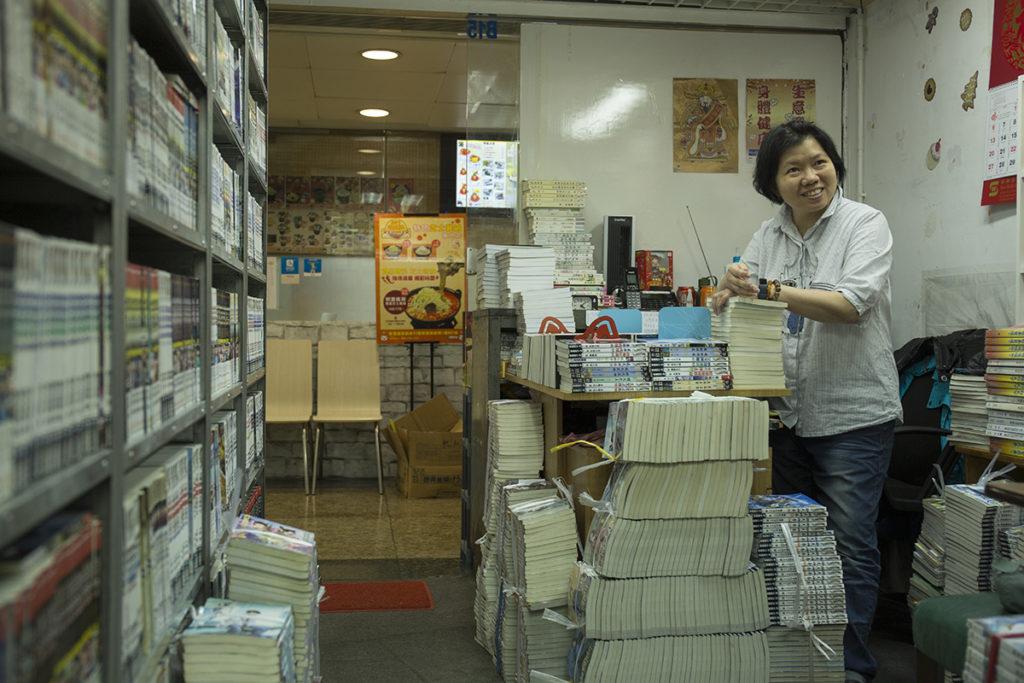 書迷Catherine明知經營二手書店是夕陽行業,仍然抱着一絲希望,為一班熟客捱下去。