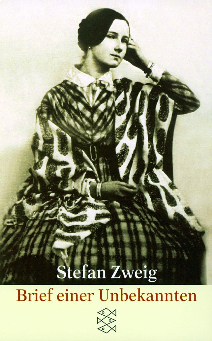 褚威格的短篇小說《一位陌生女子的來信》。