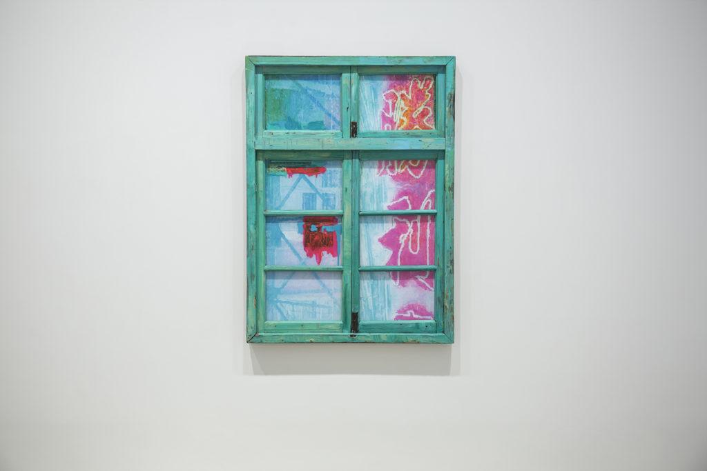 李青《鄰窗-勝利》,2017