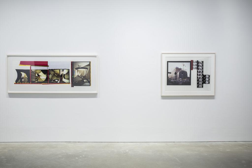 Gordon Matta-Clark(左)《Circus》,1978;(右)《Conical Intersect》,1975