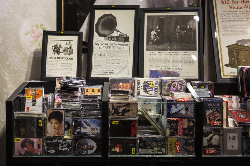 要聽廣東金曲,James表示一定要買台灣版本,首推「上尚」與「歌林」兩大品牌。
