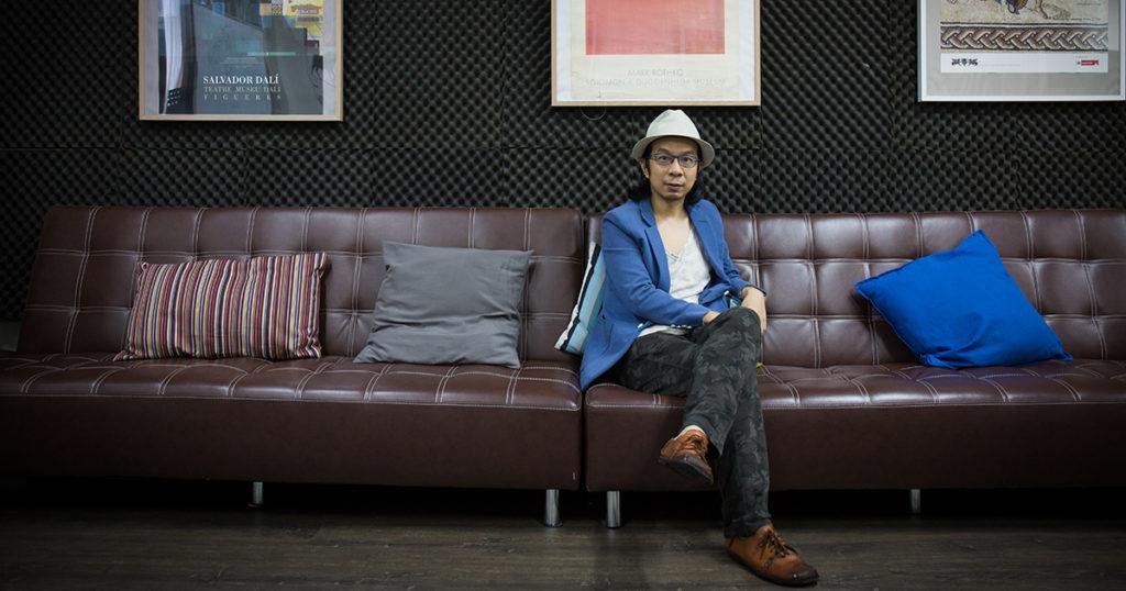 伍卓賢是一名本地作曲家。去年跟國立臺灣國樂團及跨媒體藝術家BALLBOX合作,以幾米2012年的繪本故事《如果我可以許一個願望》為藍本,製作一齣合家歡劇場音樂會。