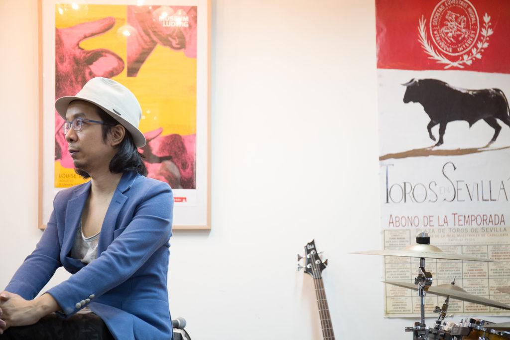 伍卓賢認為跨界合作只是別人給他的標籤,只要是他喜歡的音樂,他便會創作。