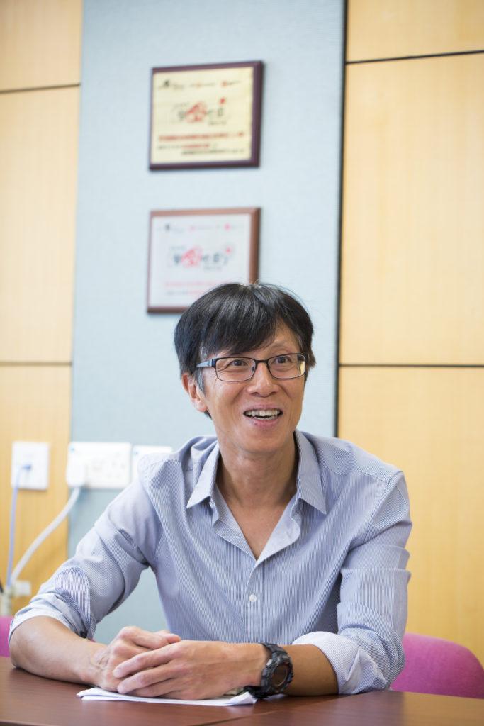 簡建顥表示運動訓練鍛鍊了永光的毅力,及提升了他的自我管理能力, 這些還能夠應用在他的學業及日常生活當中。