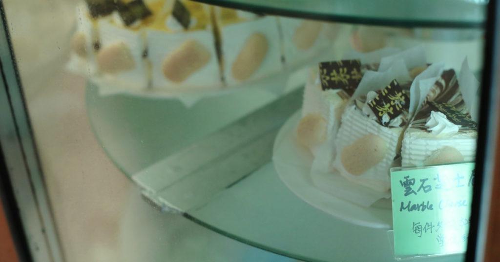 馮老闆說,蛋糕是西餐必有的甜品,是西餐的靈魂,百味閣不賺錢也堅持自家造。