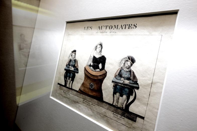 Neuchâtel藝術與歷史博物館內亦有有關玩偶製作的畫作收藏